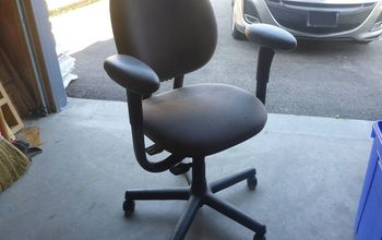 curb side office chair re purposed