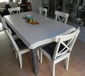 Peachy Renewing A Second Hand Kitchen Table With Paint Hometalk Download Free Architecture Designs Embacsunscenecom