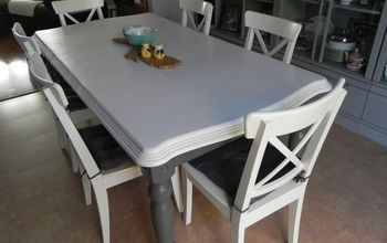 Renewing a Second-hand Kitchen Table With Paint!