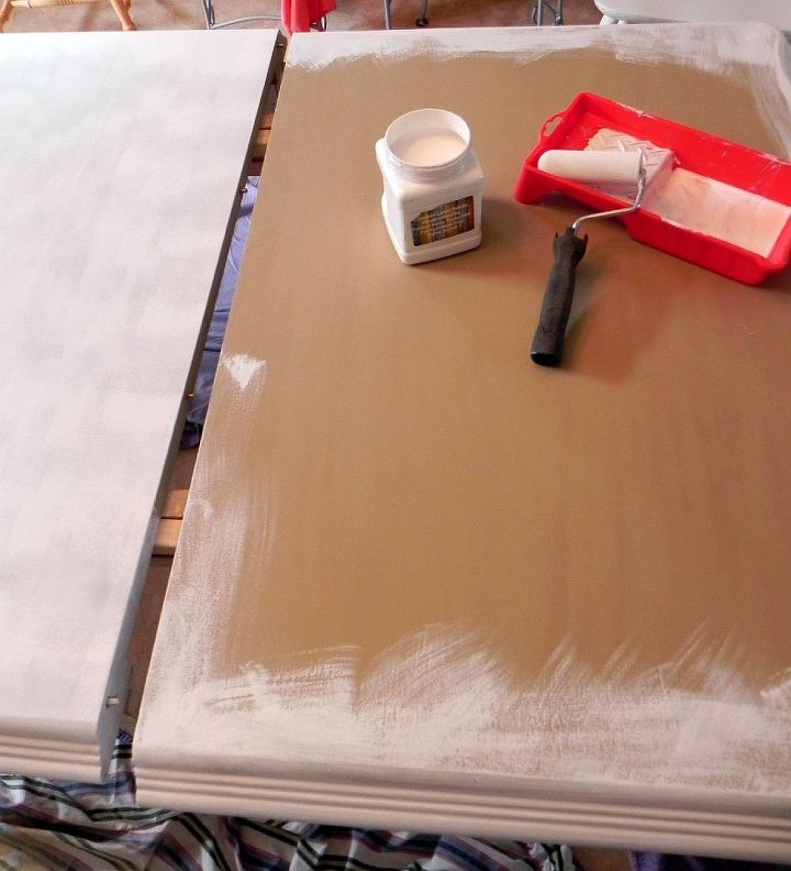 Pleasing Renewing A Second Hand Kitchen Table With Paint Hometalk Download Free Architecture Designs Embacsunscenecom