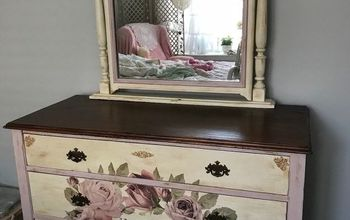 shabby chic makeover, The FINISH