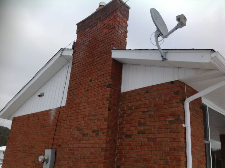 q how do i repair the top of my chimney