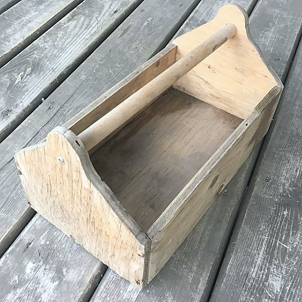 old tool box turned to treasure