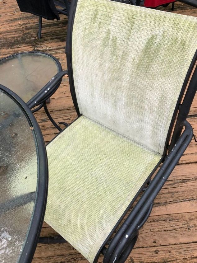 How Can I Clean Mesh Patio Dining Chairs Hometalk