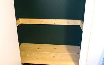DIY Shelves for Kids' Toys
