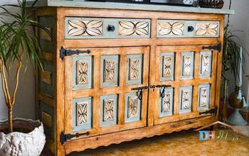 Old Dresser Makeover Turns Into Great Piece of Furniture