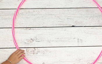 8 Cute Ideas You'd Never Think to Use a Hula Hoop For!