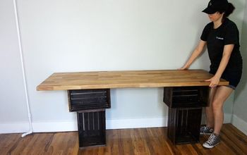 How To Make a Crate Desk