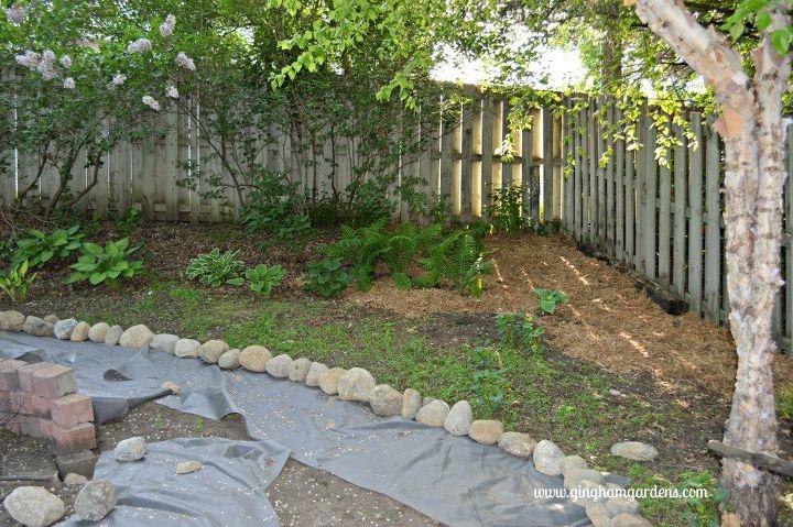 shade garden makeover