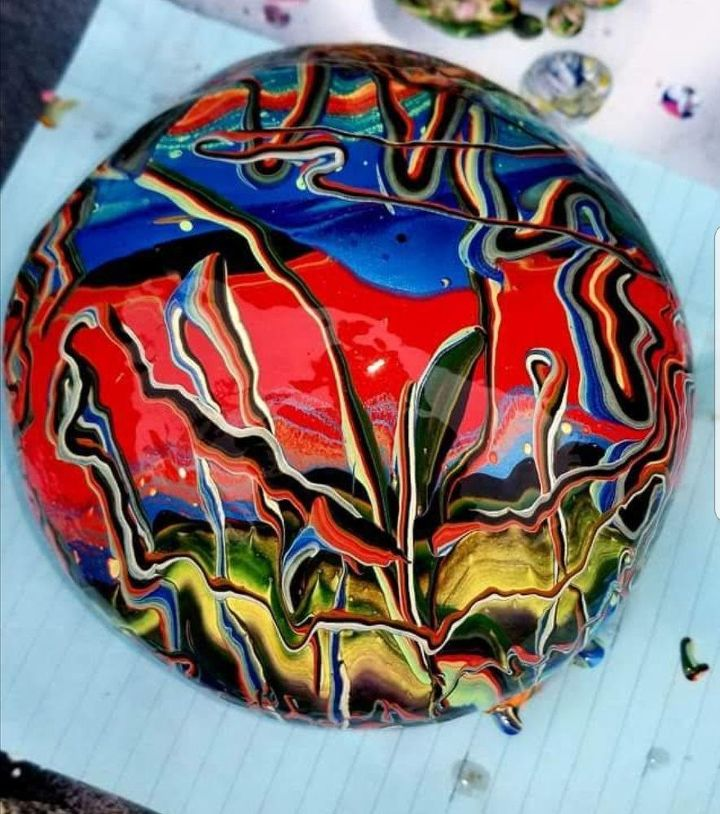 q what is the best paint to use for painting rocks