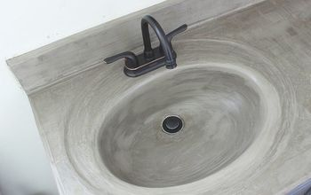 How I Updated My Cultured Marble Sink