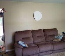 q i want to put up a big clock in my livingroom