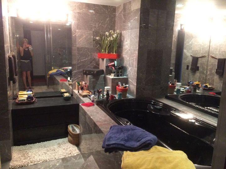 q how do i get a real bathroom