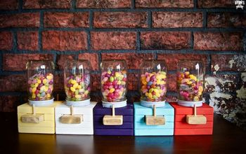 How To Make a Wood Candy Dispenser!