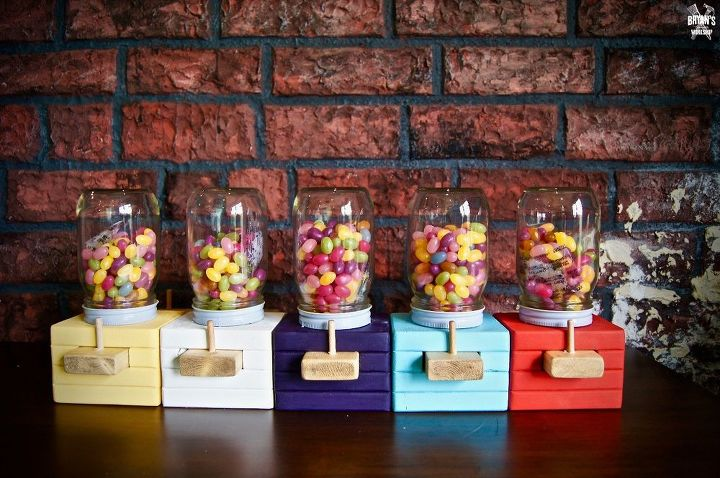 How To Make A Wood Candy Dispenser Hometalk