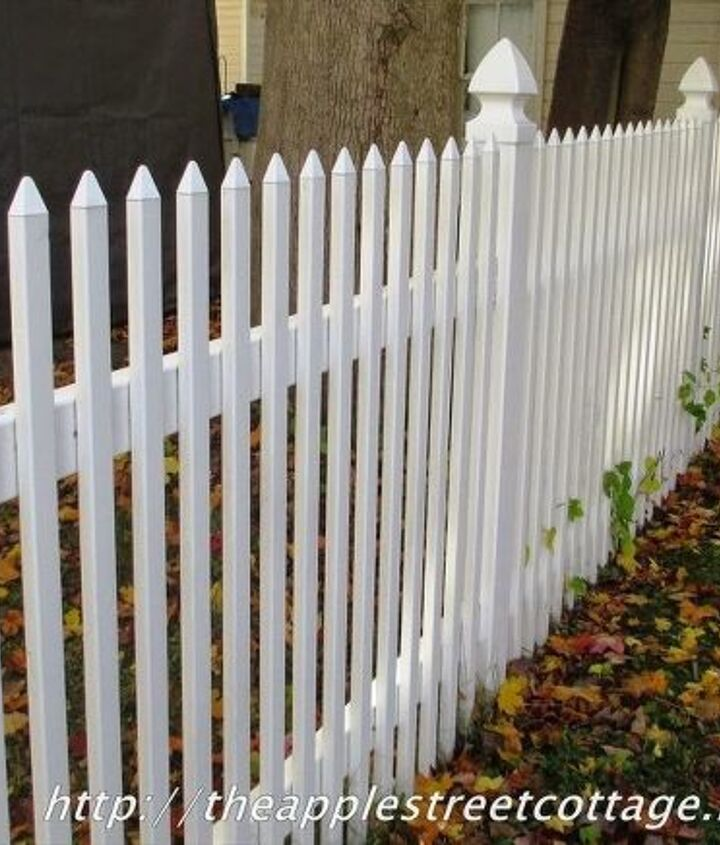 fences cleaning tips bleach spraying home