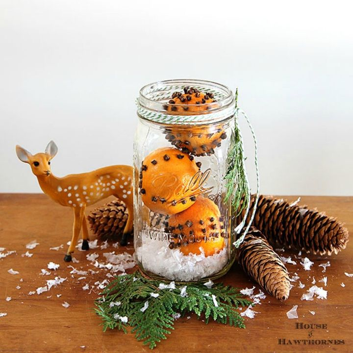 s 11 unexpected ways to use spices in your home, Cover an orange in cloves to freshen the air