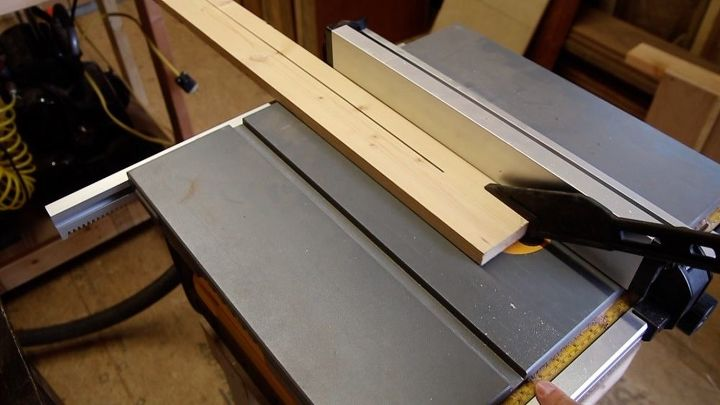 cutting out the drawer pulls