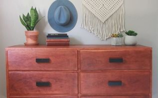 how to restore and old dresser, Finished Dresser