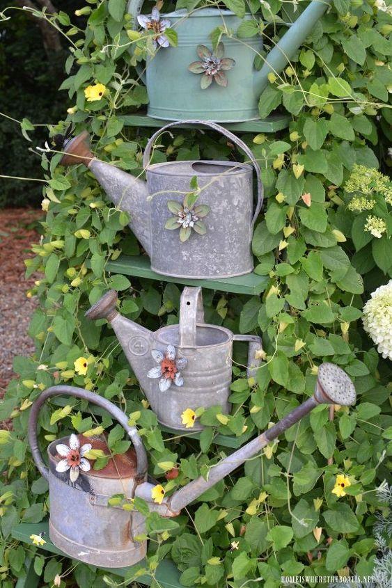 slinky garden hack and trellis for climbing vine