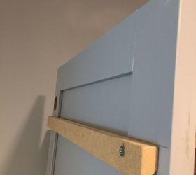 Disguise Circuit Breaker Box, Cabinet Door Cleat