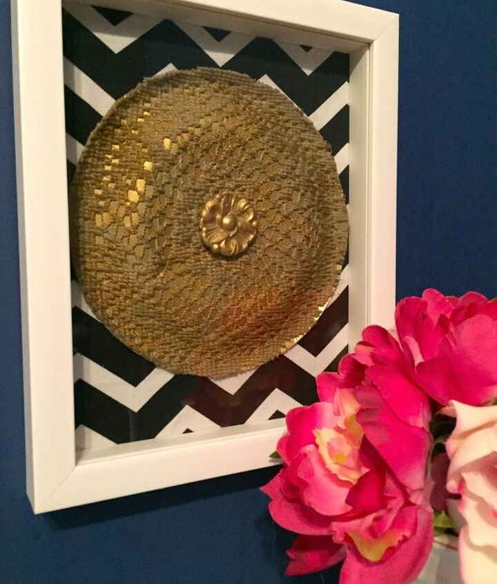 s 21 totally terrific things you can do with doilies, Make A Medallion Wall Decor
