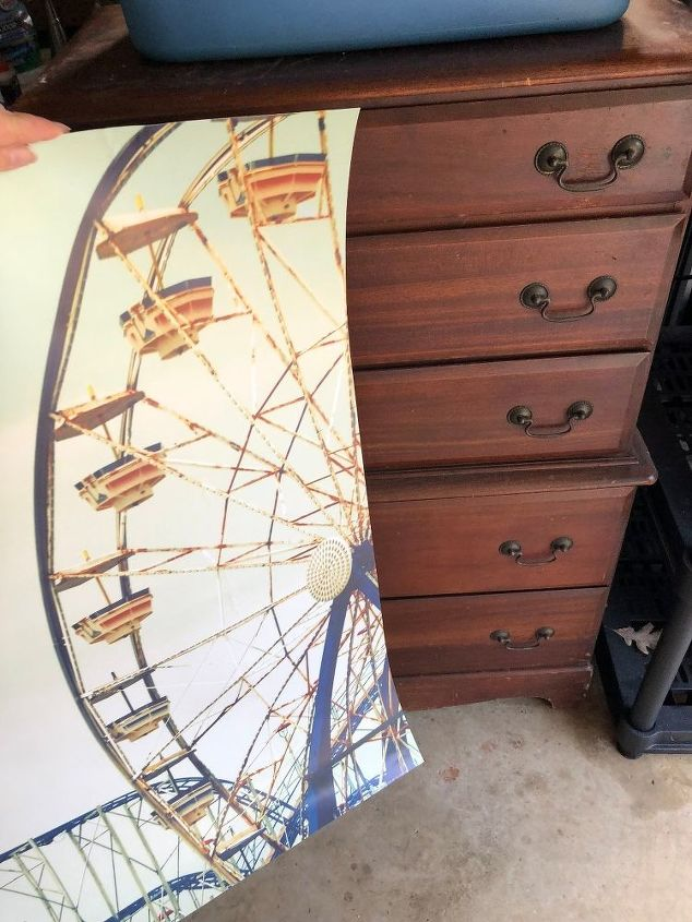 the pinterest inspired ferris wheel dresser