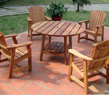 tips on protecting your wood patio furniture