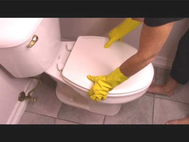 How To Clean Your Toilet From Diy Top To Bottom Hometalk