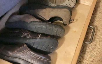 Under the Bed Shoe Storage!