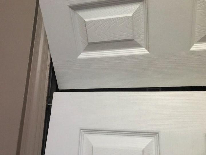q how do i fix a bi fold door that s falling of the track
