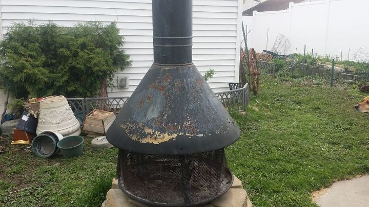 q how do i paint and seal my outdoors fire pit