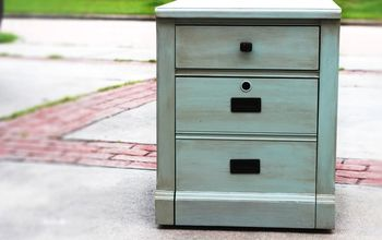 upcycled thomasville file cabinet