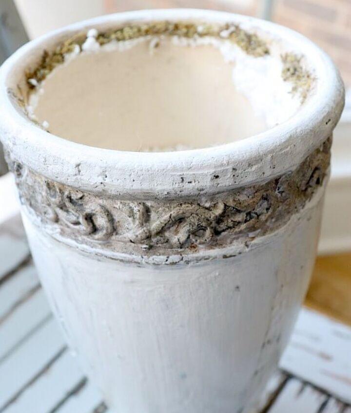 diy rusted cast iron finish