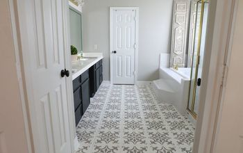 take your bathroom from builder grade to custom made