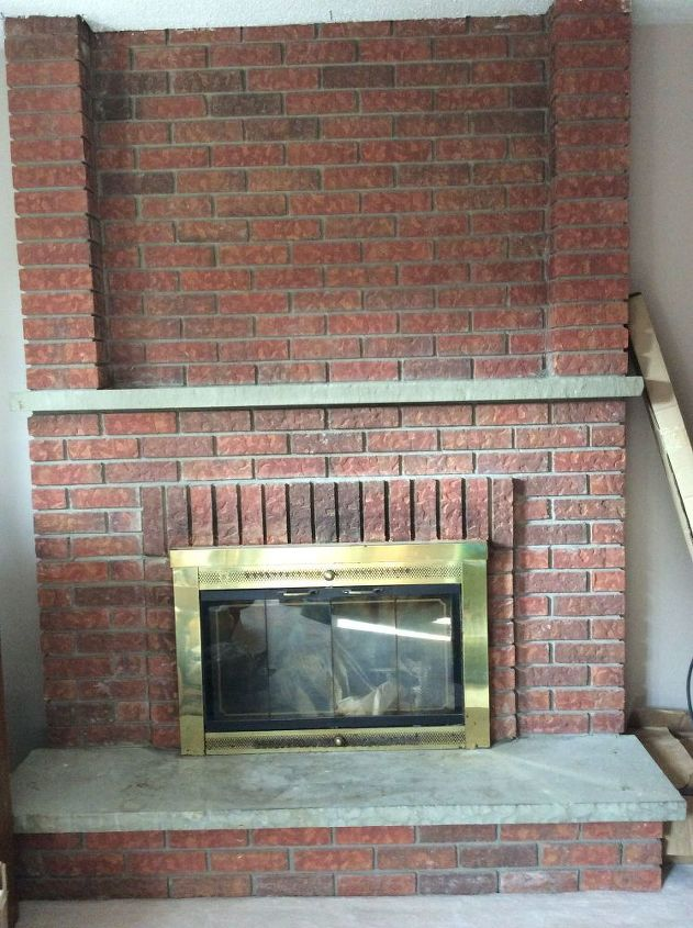 q how to update our fireplace
