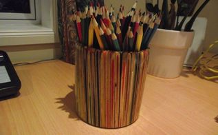 pencil pot made from pencils of course