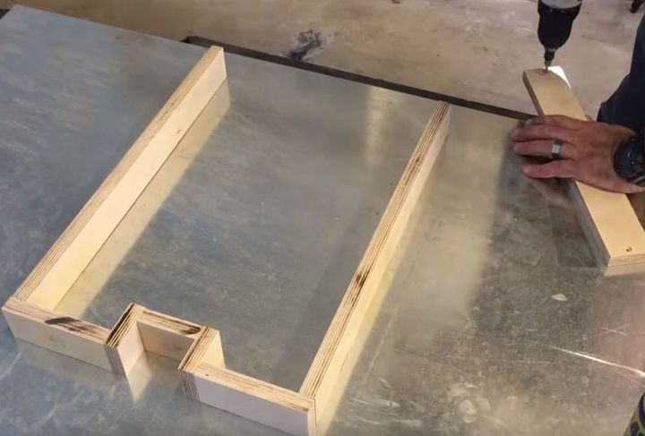 diy modern concrete and redwood bench tutorial