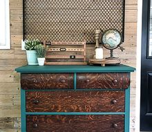 the dresser makeover that is green with envy