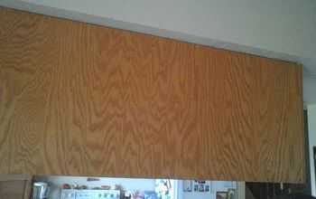 How can I update the back of my cupboards that show in my dining room?