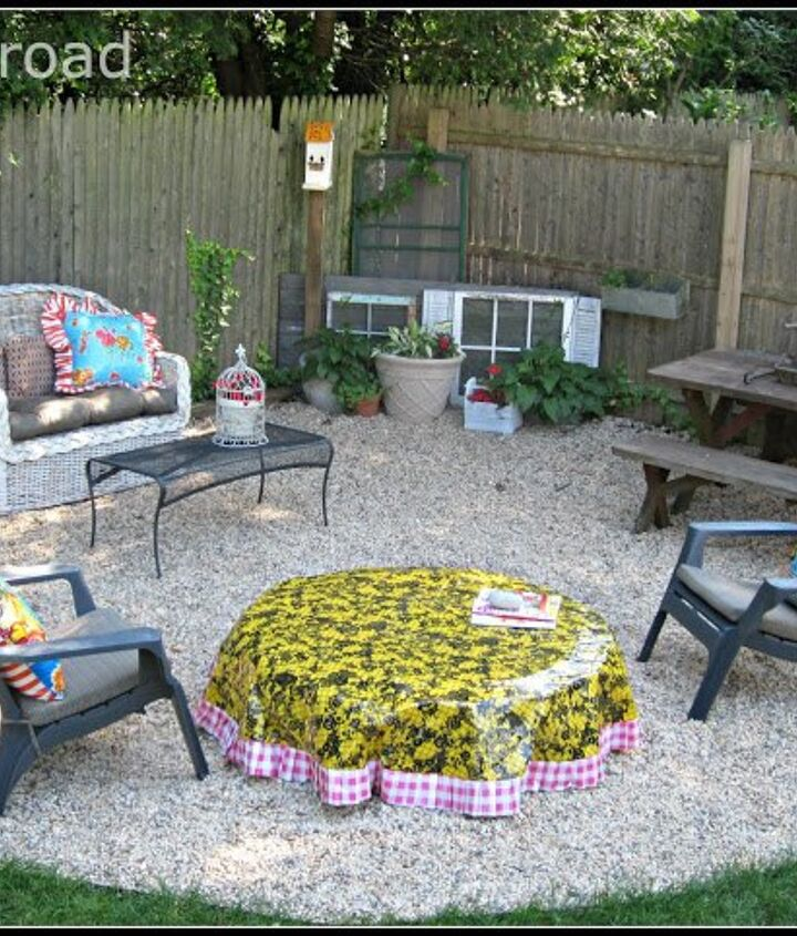 diy fire pit and cover
