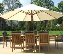 how to choose a garden parasol and its accessories