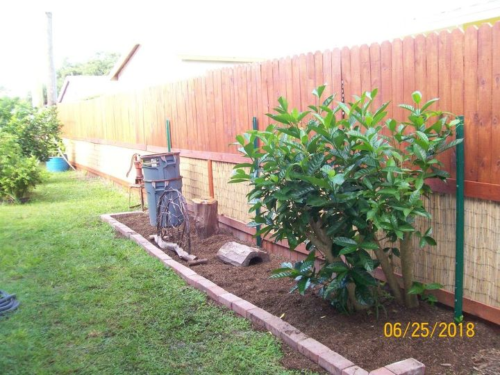 privacy fence face lift