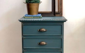 3 Techniques in One Makeover - Bedside Table Bling