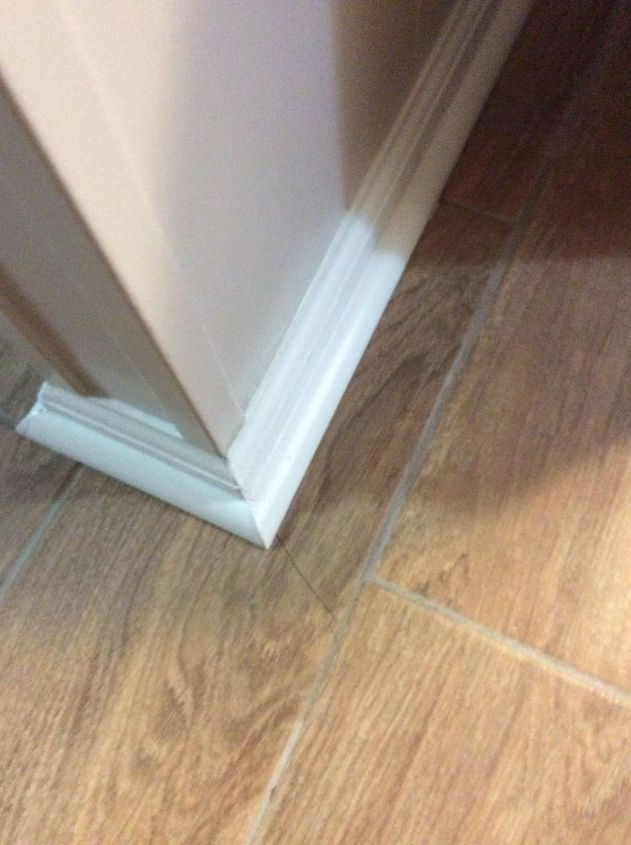 q how to fix cracked tile