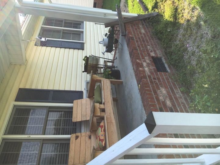 q how do i style my small front porch