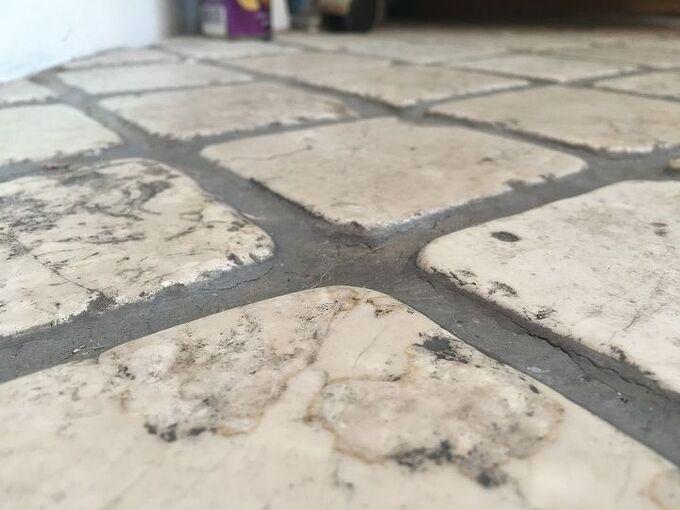 q how do i fix bathroom tile
