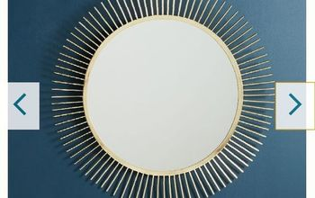 anthropology knock off no1 s everyonetarbeam mirror, Anthropology starbeam
