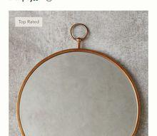 anthropology knock off no2 s hoop mirror, Anthropology hoop mirror