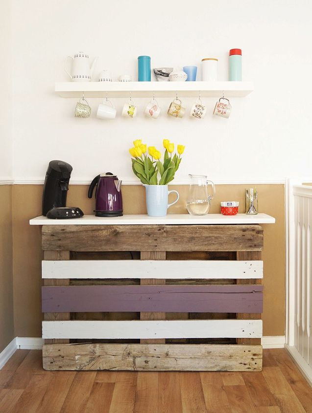 s pallets pallets pallets, Build Your Own DIY Coffee Bar